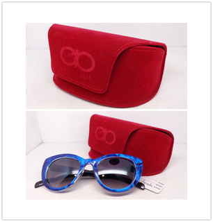 Velvet Case for Cosmetic and Fashion Glasses