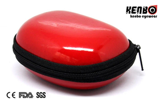 Red Plastic Sunglasses Case Nice Design