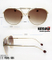 Trendy Design Frame Metal Sunglasses with Muti-Colored Lens Km18032